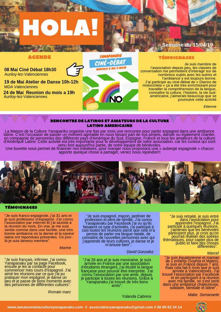 Reunion de latinos Valenciennes
