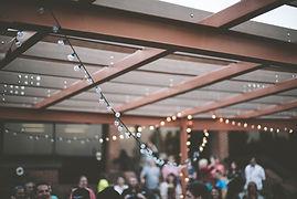Luces de cuerda al aire libre