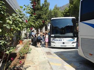 Delphi Cultural Centre - back entrance a