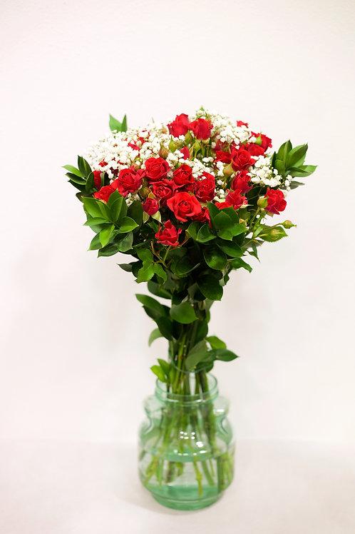 Rose ramificate Rosse