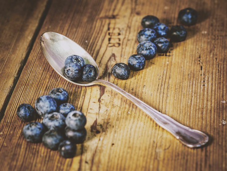 Blueberries / Heidelbeeren