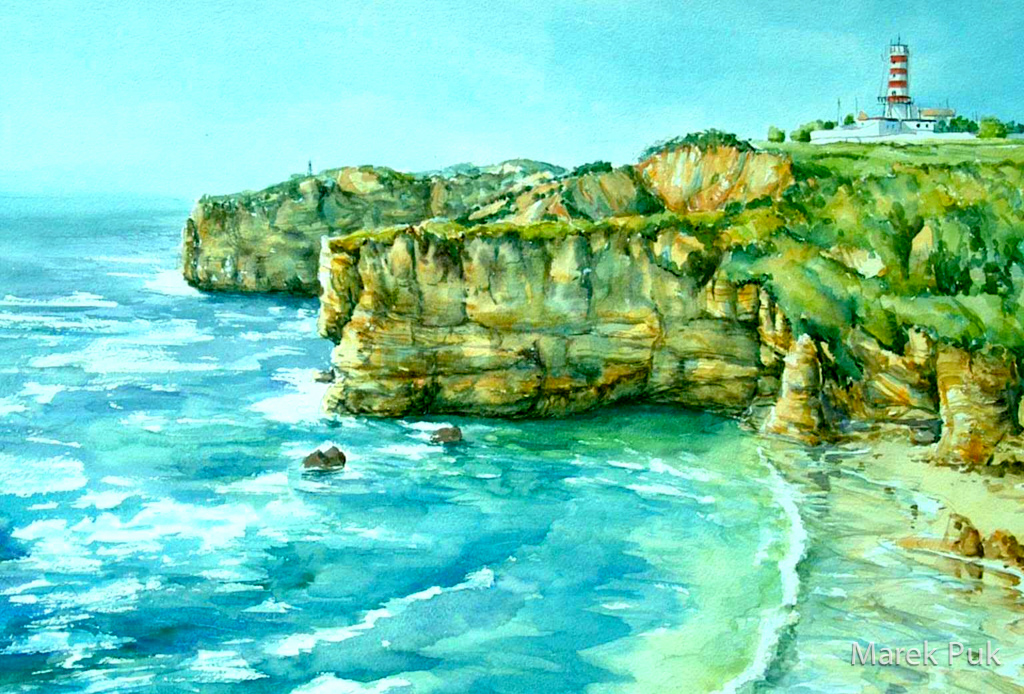 Algarve Steilküste Portugal