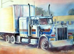 Truck in Florida