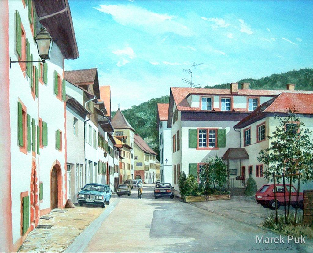 Schopfheim Altstadt Wallstrasse