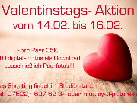 Valentinstags- Aktion 2020