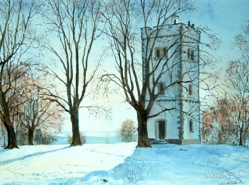 Winterliche Hohe Flum