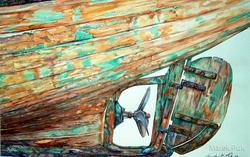 Bootskörper Sagres/Portugal
