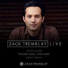 Laine Hardy - Zack Tremblay Live