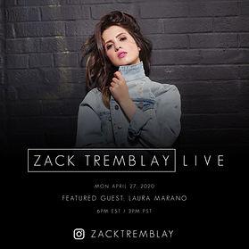 Laura Marano - Zack Tremblay Live