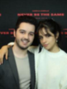 Zack Tremblay with Camila Cabello