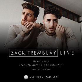 Fly By Midnight - Zack Tremblay Live