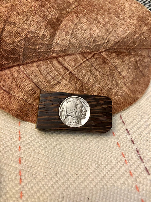 Indianhead Coin Money Clip