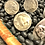 Thumbnail: Adjustable Vintage Coin Rings