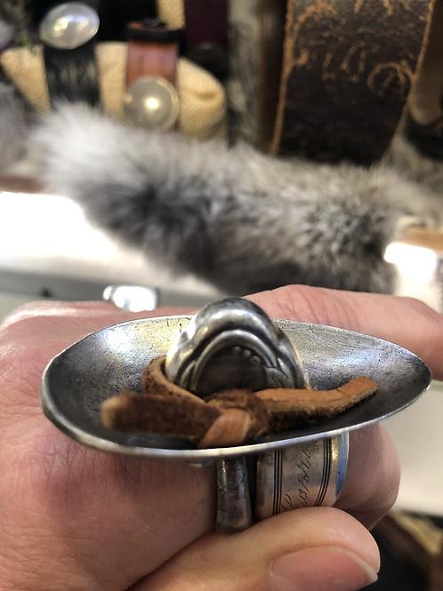 Sombrero Spoon Rings