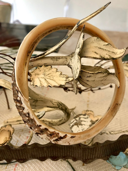Bone Bangle Bracelet