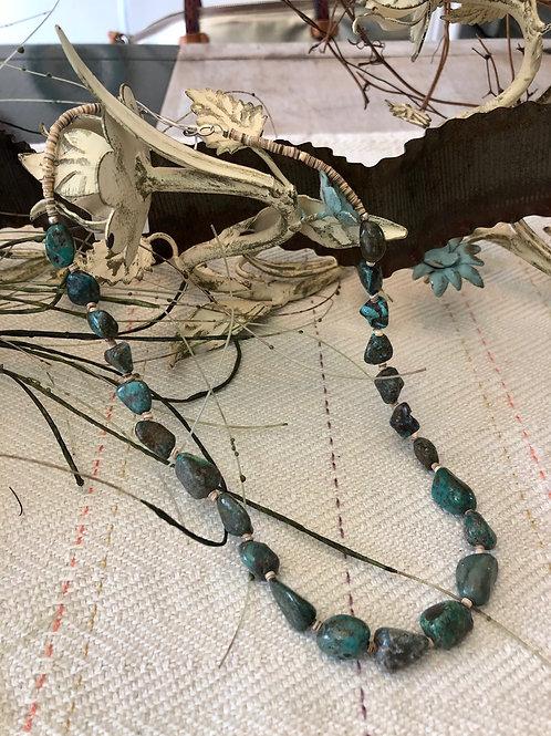Heishi Natural Turquoise Strand