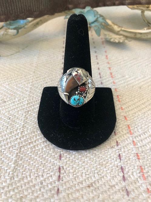 Men's Beaver Claw Ring
