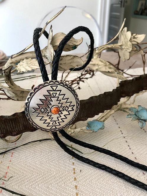Indian Wedding Basket Bolo Tie