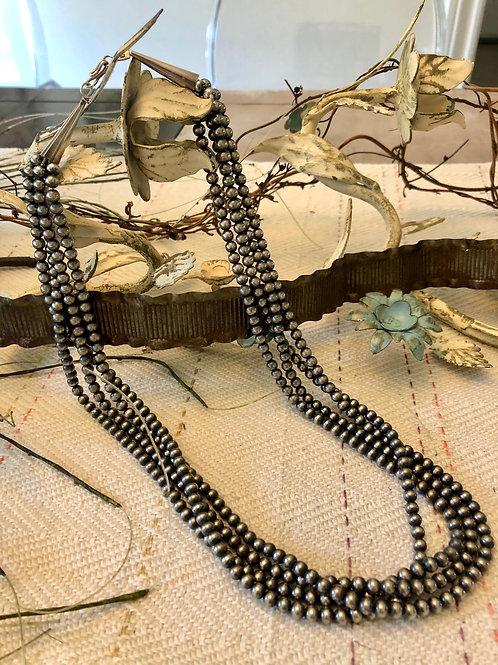 Quadruple Strand, Navajo Pearls