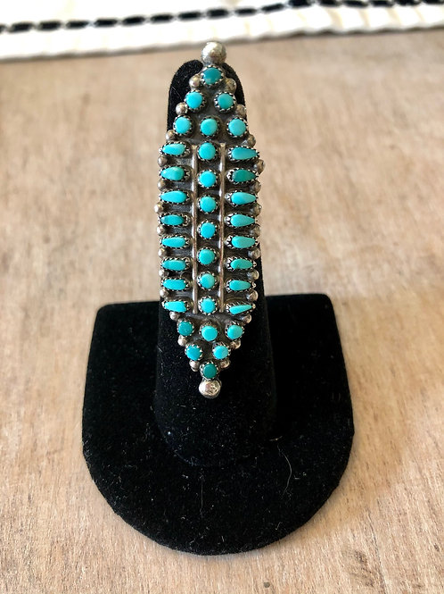 1970s Zuni Ring