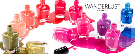 Zoya Big 10 Free - Our Summer Collection 2017 are here