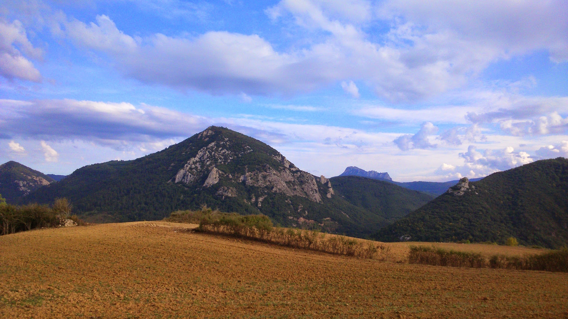 Mont Cardou et Pech Bugarach