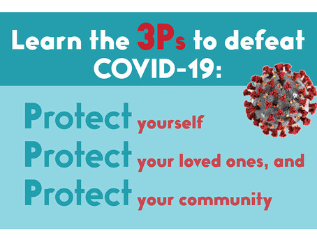 COVID-19 is here—let's do our part.