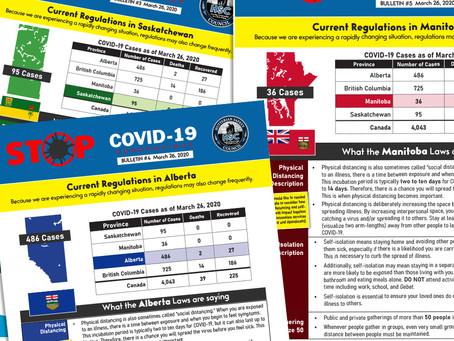 Bulletins #3, 4, 5, & 6 Current Provincial Regulations