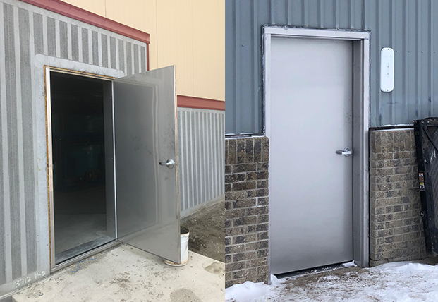 Stainless-Doors