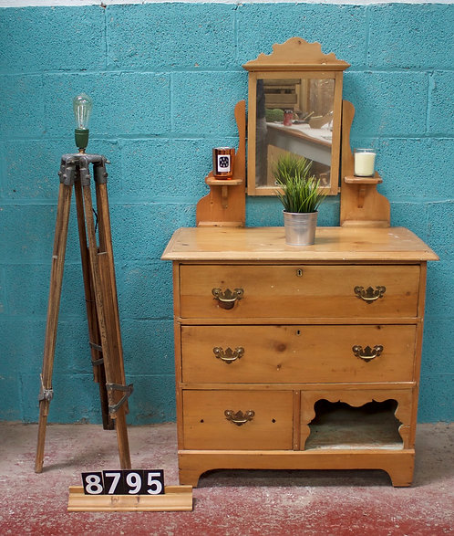 Waxed Dressing Chest 8795