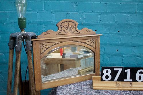 Waxed Mirror 8716