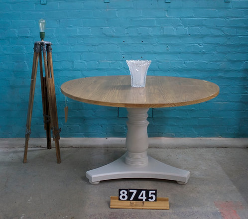 Painted Round Table 8745