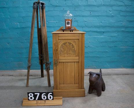 Waxed Satinwood Pot Cupboard 8766