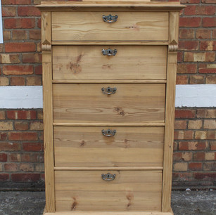 Danish chest of drawers - stripped of paint