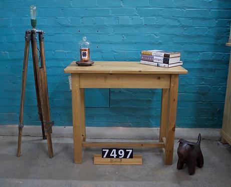 Waxed Table 7497
