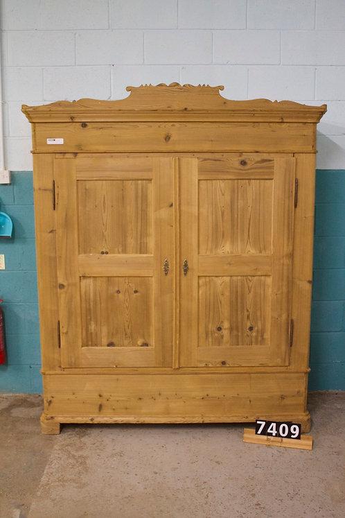 Antique Pine Wardrobe 7409