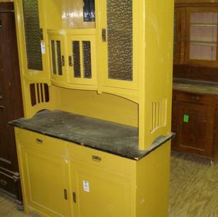 Antique pine dresser - original paint