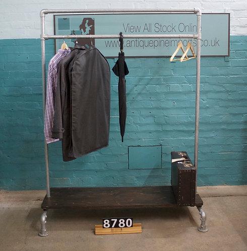 Scaffold Rail Coat Rack 8780