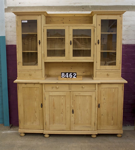 Large Antique Pine Dresser 8462