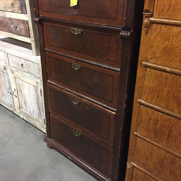 Danish chest of drawers - original paint
