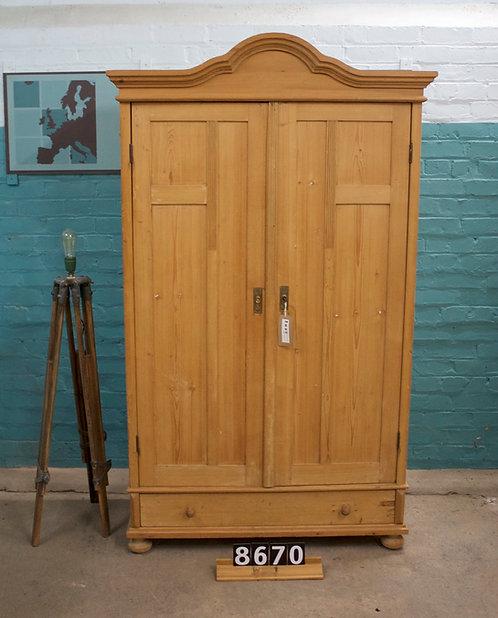Waxed Wardrobe/Cupboard 8670