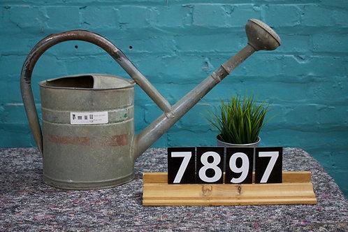 Vintage Zinc Watering Can 7897