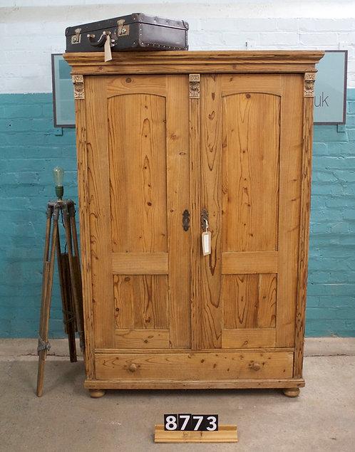 Waxed Cupboard/Children's Wardrobe 8773