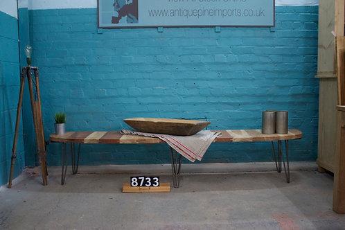 Hardwood Bench 8733