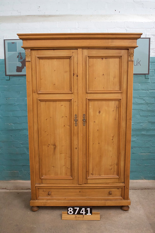 Waxed Cupboard/Children's Wardrobe 8741