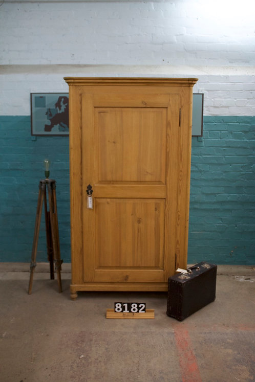 Waxed Wardrobe/Cupboard 8182