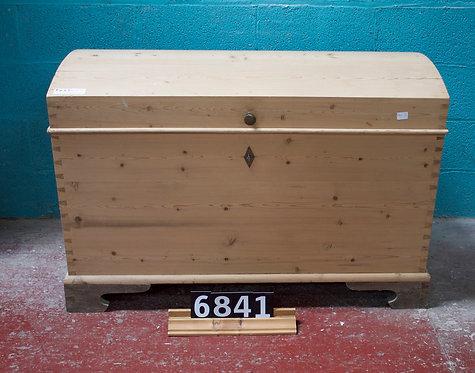 Antique Pine Blanket Box/Coffer 6841