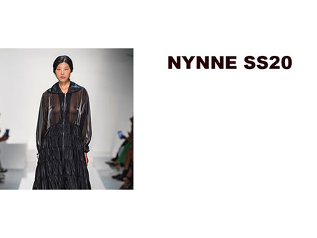 NYNNE SS20 Collection at Milan