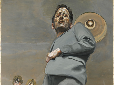 Lucian Freud exhibition: arriving in London for 2022