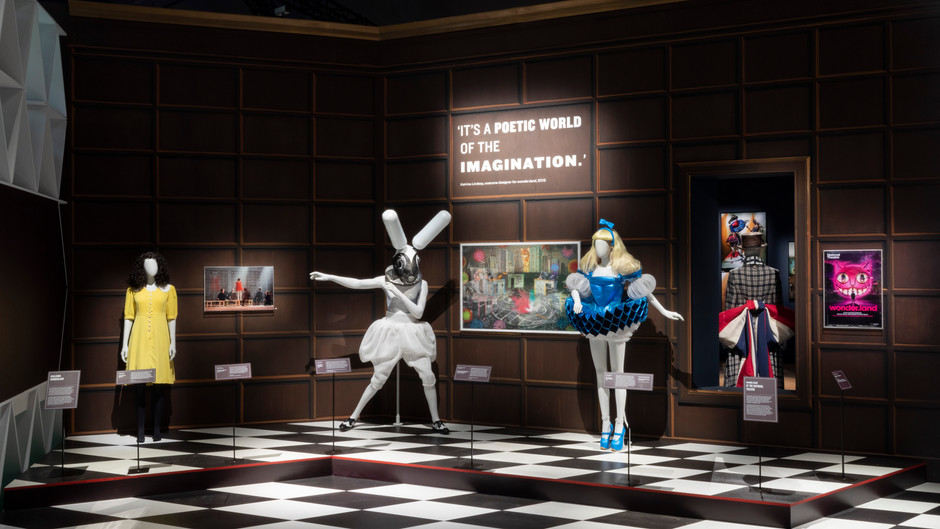 Alice: Curiouser and Curiouser at the V&A A Trip Down the Rabbit Hole